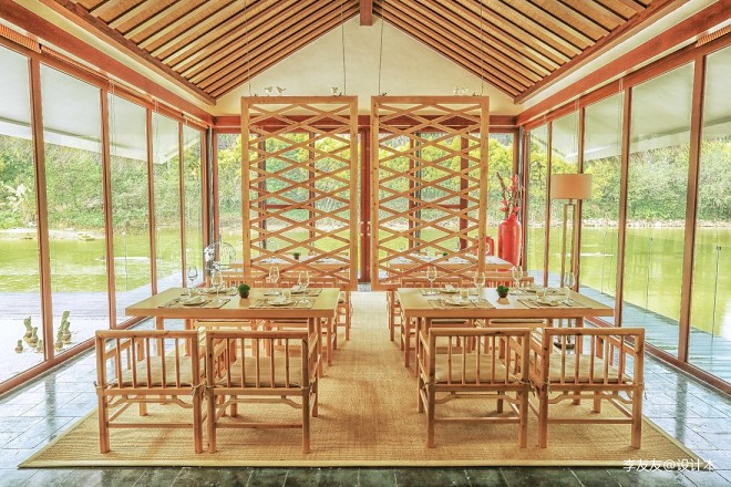 中国广州番禺山里山居茶会所项目——室