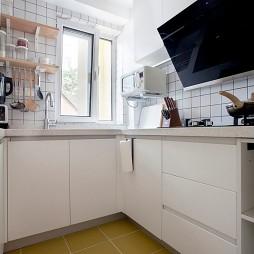 50平北欧极简——厨房图片