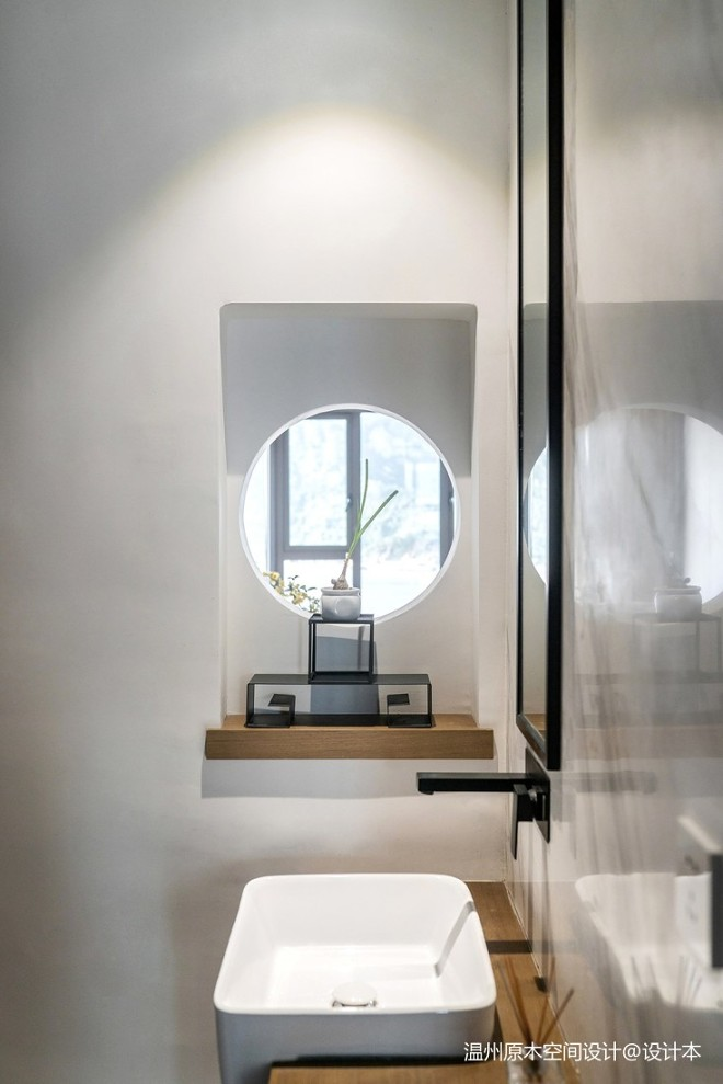 温州原木空间设计丨清韵——卫生间图片