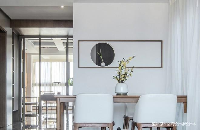 温州原木空间设计丨清韵——餐厅图片