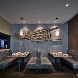 客家餐厅设计:卡座图片