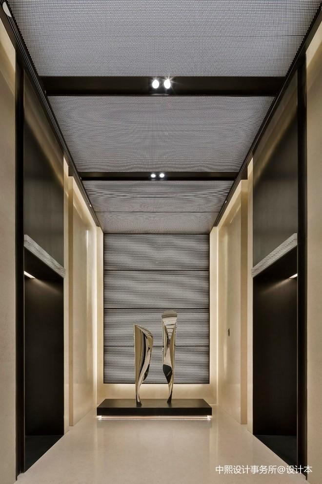 黄铜不锈钢_办公空间3600平米装修案例_效果图 - WED | 在大湾区中心,探索建筑 ...