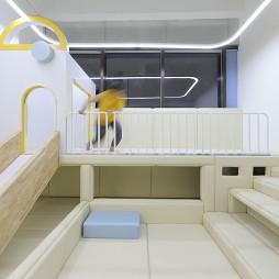 重庆斑马线儿童理发终端空间设计——娱乐区图片