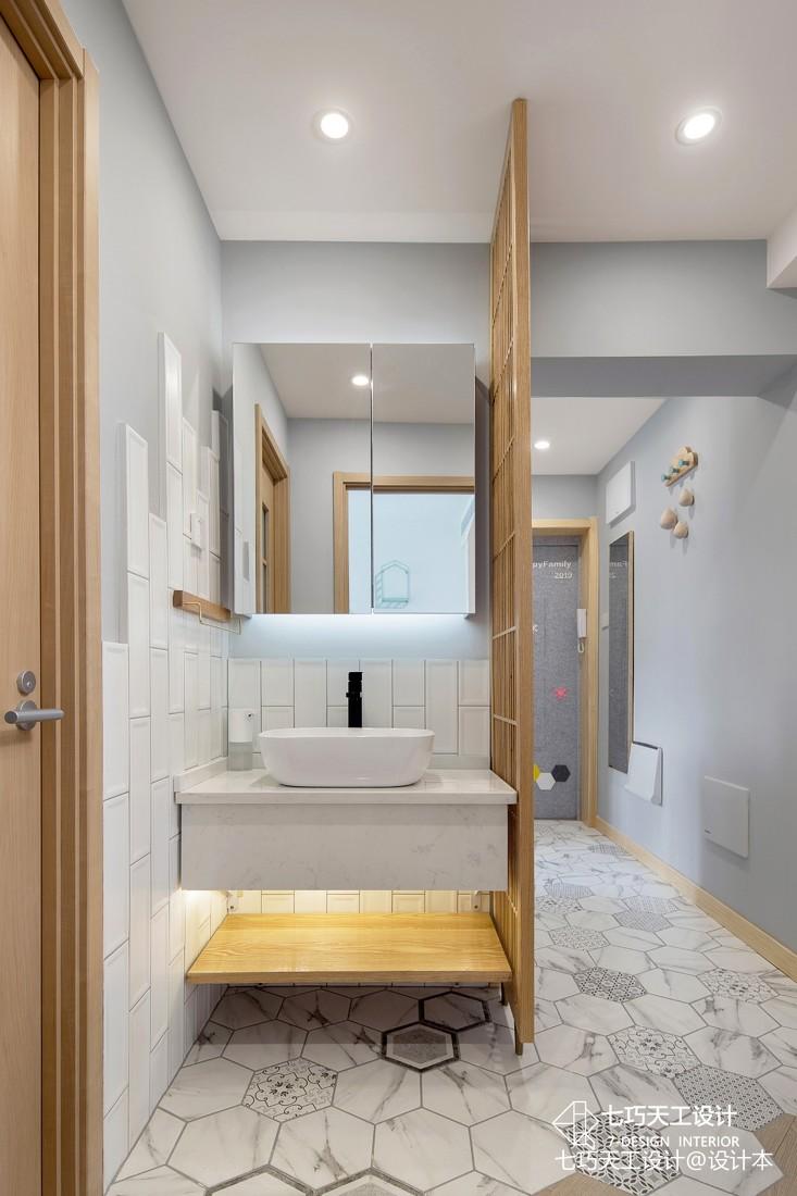 嵌入式收纳,不放过家里每一寸——卫生间图片