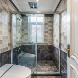 《温日暖阳》美式轻奢风,恰到好处的精致——卫生间图片