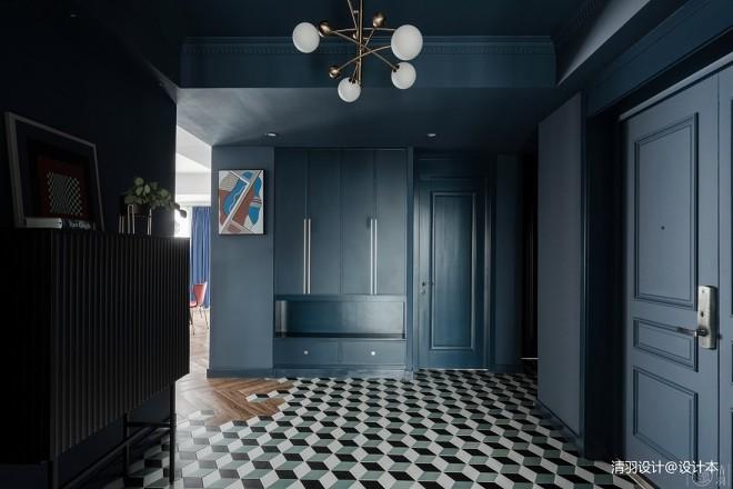 梵高藍——玄關圖片