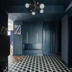 梵高蓝——玄关图片