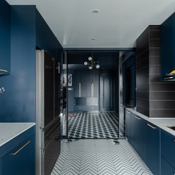 梵高蓝——厨房图片