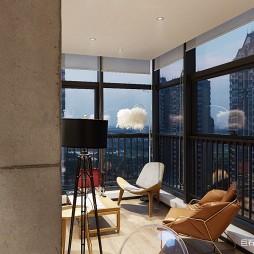 石间—办公空间——阳台图片