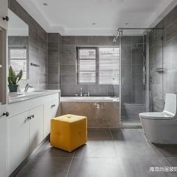 景山玫瑰园别墅装修350m²——卫生间图片