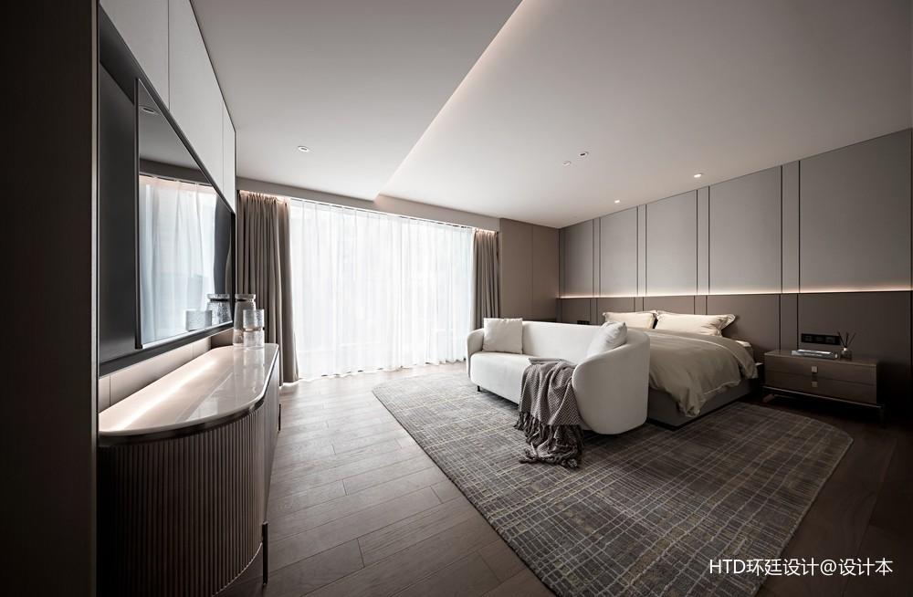 HTD新作 | 莫兰迪色演绎现代奢华空间——卧室图片