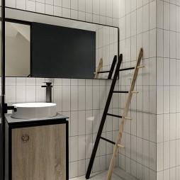 巧用空间层高| 三口之家的地下娱乐空间——卫生间图片
