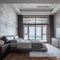 云水禅心—中式现代——卧室图片