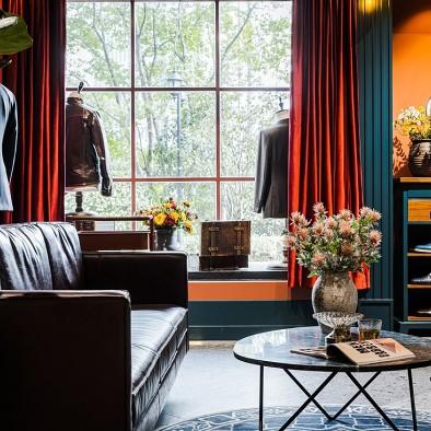 这一回我们重新定义 | 西装定制店设计——休息区图片