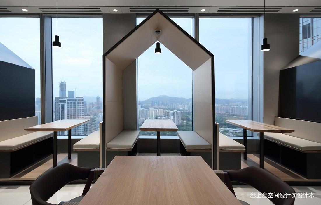 OPPO深圳湾总部员工餐厅——多功能区图片