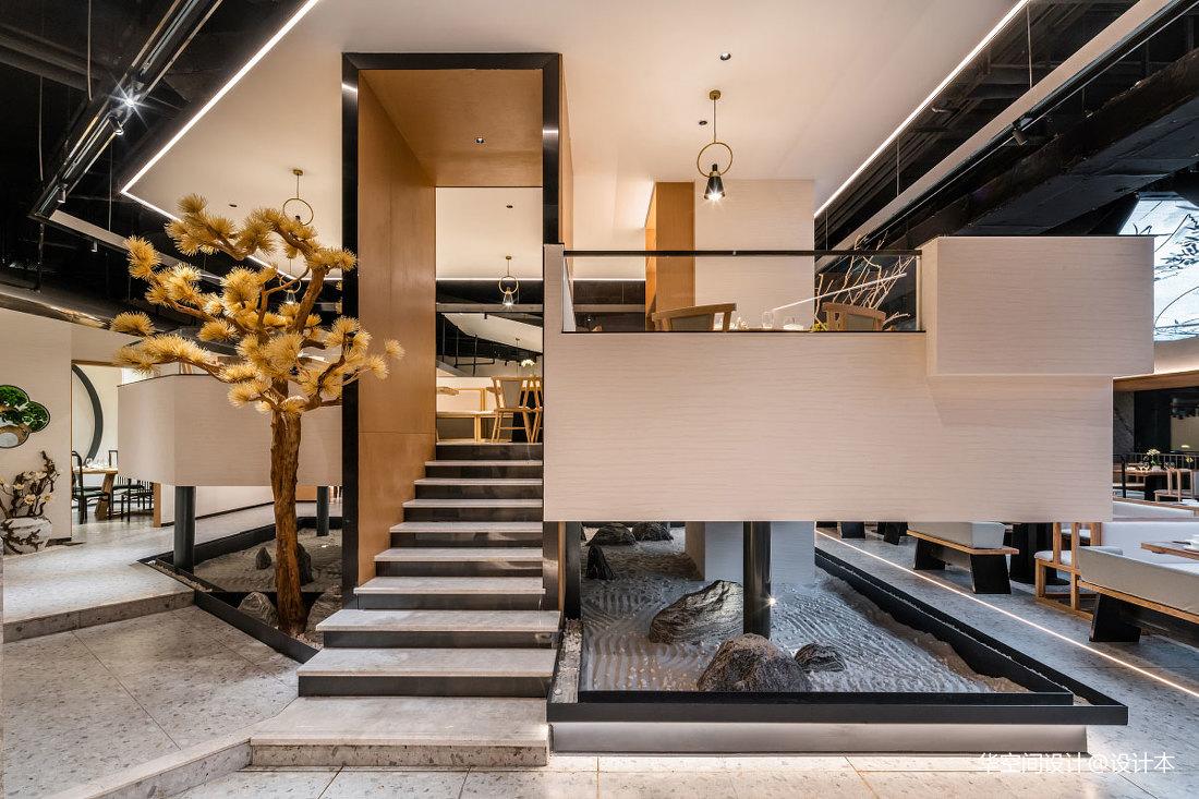 餐饮空间设计-新陶然川式创意菜——楼梯图片