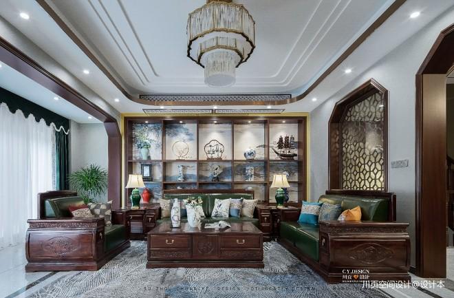 一套房子三种格调,中式别墅为爱融合—
