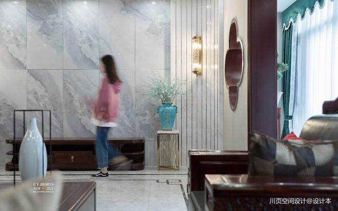 一套房子三种格调,中式别墅为爱融合!