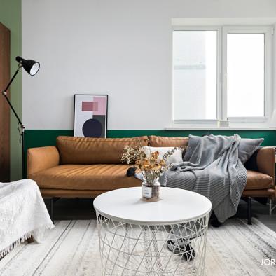 老房换新,依然怀旧复古——客厅图片