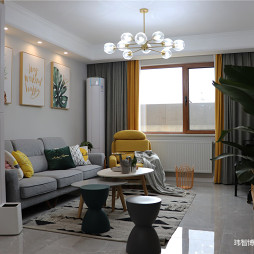 暖木—北欧极简——客厅图片