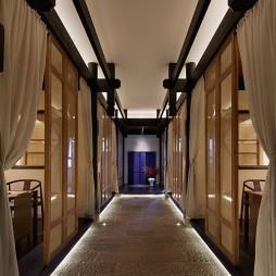 龙茶馆——走廊图片