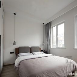 140平米黑白灰,4房改2卧室1书房——客卧图片