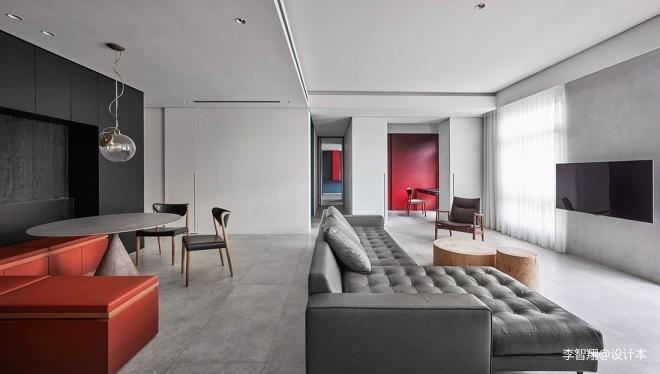 幾何原色—現代簡約——客餐廳圖片