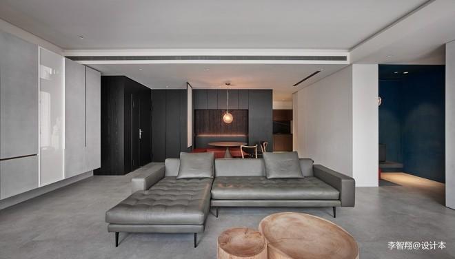 幾何原色—現代簡約——客廳圖片