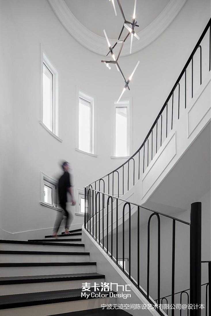 麥卡洛陳設 |現代簡約別墅豪宅——樓梯圖片