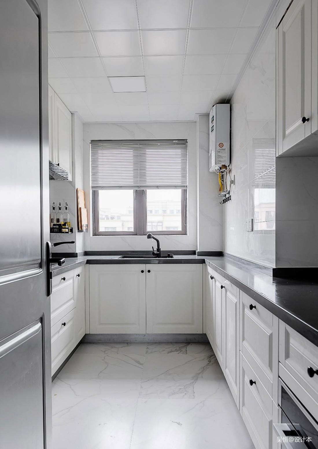 沢灰   现代or复古混搭——厨房图片