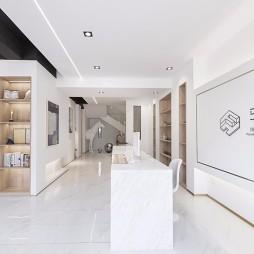 黑白一念-办公空间——前台图片