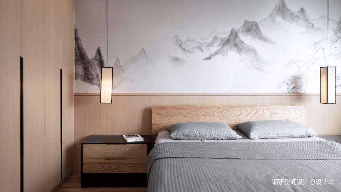捉影 | 朝花夕拾-中式现代——卧室图片