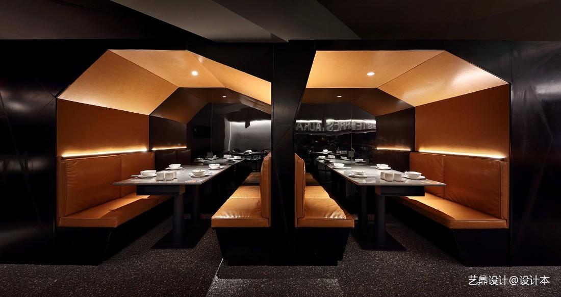 深圳餐厅设计【餐饮空间设计】虾胡闹餐厅——卡座图片