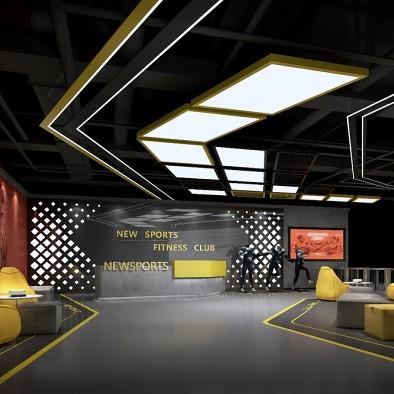 纽森堡健身会所·健身会所设计装修_3953096