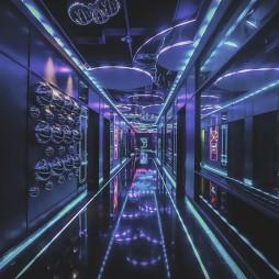 多元艺术文化与娱乐空间的碰撞MR.BIG——走廊图片