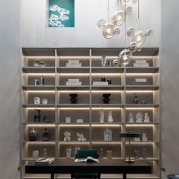 止境   人文、现代简约 住宅空间——书房图片