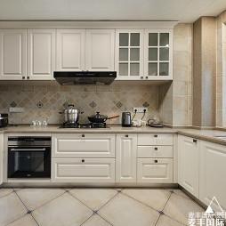 木色人生 185m²美式——厨房图片