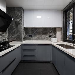 90青年的新生活 108㎡现代台式——厨房图片