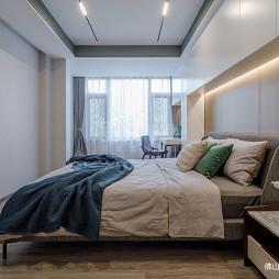 现代简约别墅豪宅:卧室图片