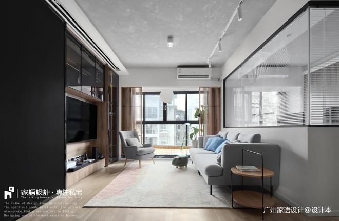 恬适-日式风格——客厅图片