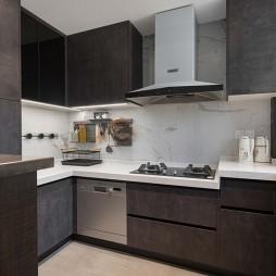 除阳台走道套内55平如何高收纳高颜值三室——厨房图片