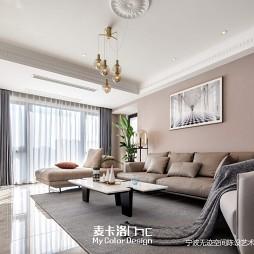 午后の奶茶-现代简约——客厅图片