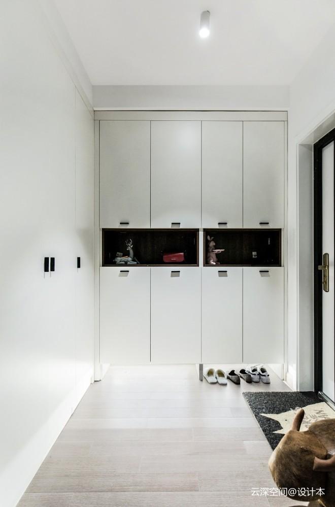 厨房半墙玻璃,让西向户型通透到极致_