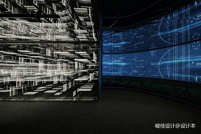 黑白平行展厅,艺术+科技完美演绎上海