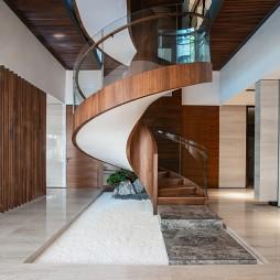 恒禾七尚36号BF层私人会所——楼梯图片