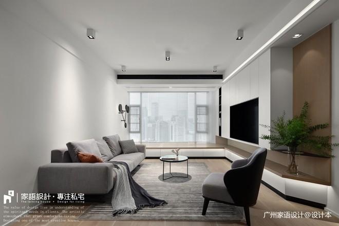 现代简约-客厅设计图