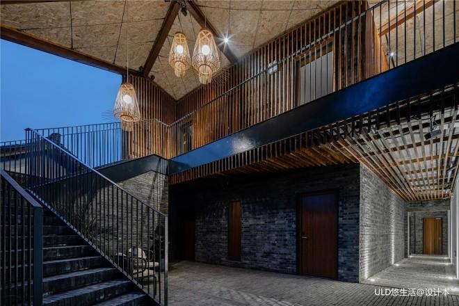 安仁南岸美村•艺术公舍-楼梯图片