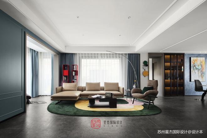 300平別墅豪宅—客廳圖片