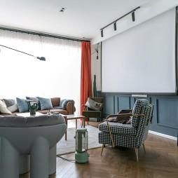 潮流混搭风格——客厅图片