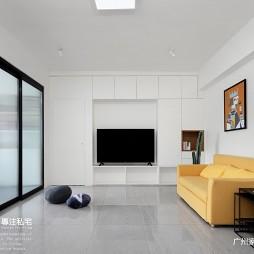 120平现代简约风格-客厅图片